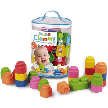 Clementoni Baby Clemmy Sacca 48 Mattoncini 6-36m+