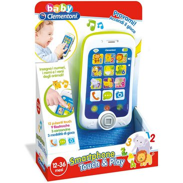 Clementoni Smartphone Touch & Play 12-36m+