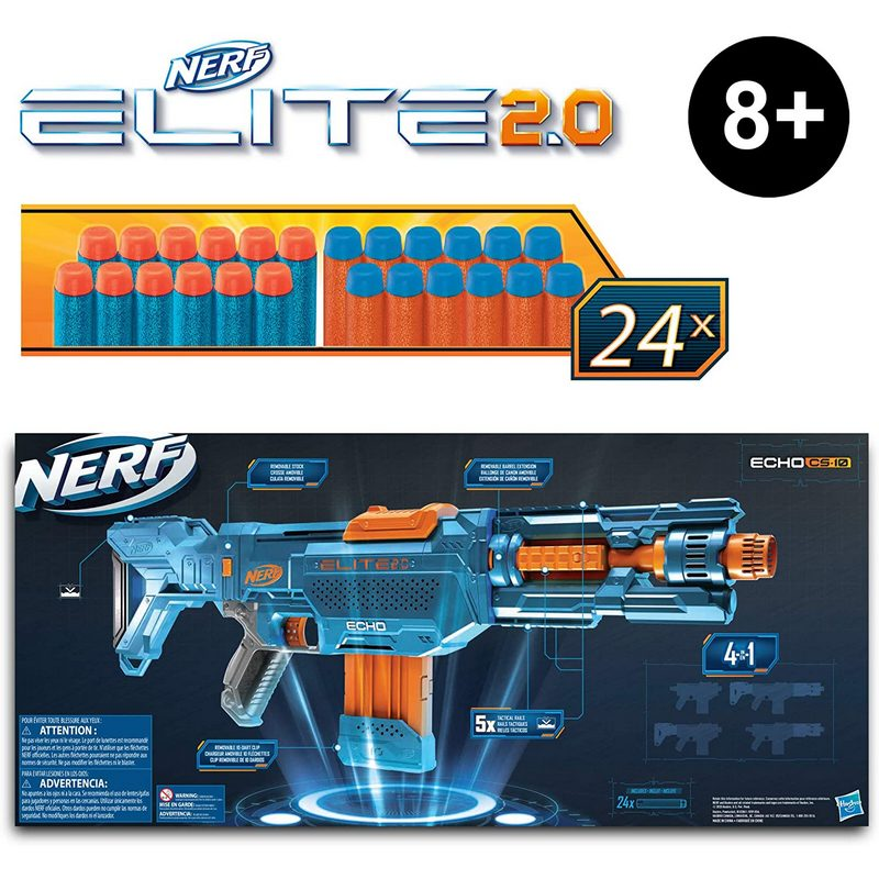 Hasbro Nerf Elite 2.0 Echo CS-10