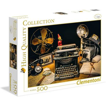 Clementoni The Typewriter High Quality Collection Puzzle 500 pezzi