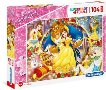 Puzzle Disney The Beauty And The Beast 3+