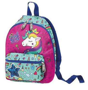 Zaino asilo PoolOver Unicorno